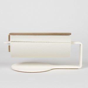 Scandinavian Design Factory Curve Talouspaperinpidike Valkoinen / Messinki