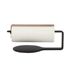 Scandinavian Design Factory Curve Talouspaperipidike Musta / Kupari