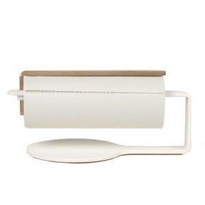 Scandinavian Design Factory Curve Talouspaperipidike Valkoinen / Messinki