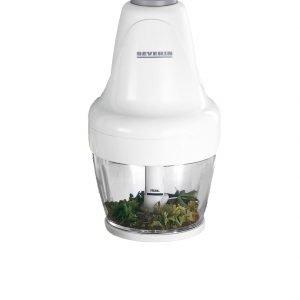 Severin Sähköinen Minisilppuri Valkoinen
