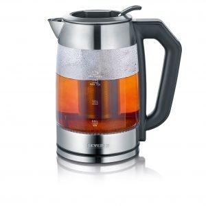 Severin Tee & Vedenkeitin Lasi Kirkas 1.7 L