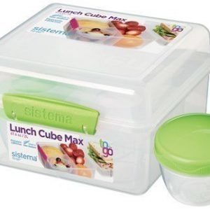 Sistema 2L Lunch Cube MaxTo Go with Yogurt Pot