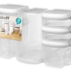 Sistema Bake it 9-pack