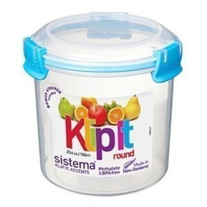 Sistema Klip it 700ml Pyöreä Accents