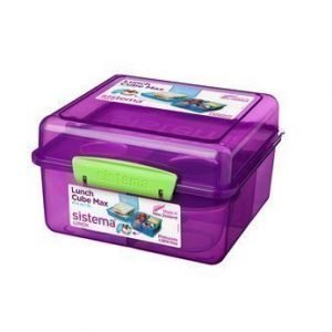 Sistema Lunch 2016 2L Lunch Cube Max withYogurt Pot
