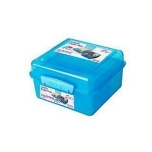 Sistema Lunch 2016 2L Lunch Cube Max withYogurt Pot Coloured