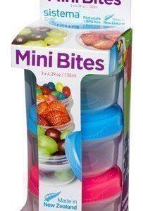 Sistema Mini Bites To Go3 pack