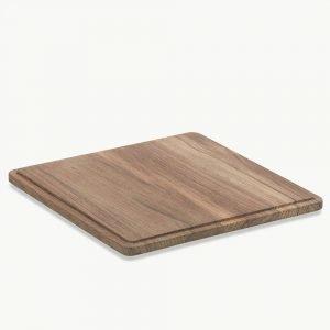 Skagerak Plank Square Tarjoilulauta Tiikki 4 Pak