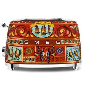 Smeg Dolce & Gabbana Leivänpaahdin 2 Viipaletta