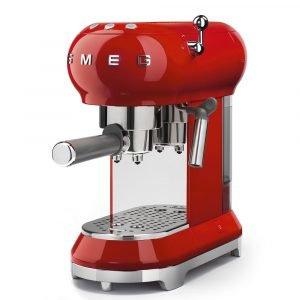 Smeg Espressokone Punainen