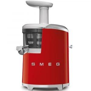 Smeg Slow Juicer Mehupuristin Punainen 0.5 L