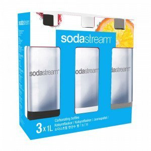 Sodastream Pet Pullo 3 Kpl 1l Sv / Vi / Si