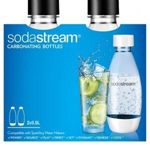 Sodastream Pullo Muovi 0.5 L 2 Kpl