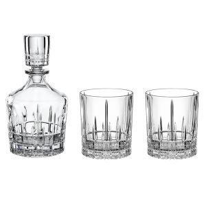 Spiegelau Perfect Serve Whisky Set Kirkas 3-Osainen