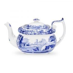 Spode Blue Italian Teekannu 1100 Ml