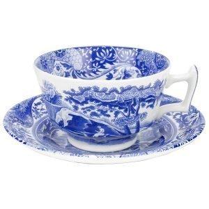 Spode Blue Italian Teekupit