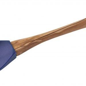 Staub Nuolija Puukahvalla Sininen 31 Cm