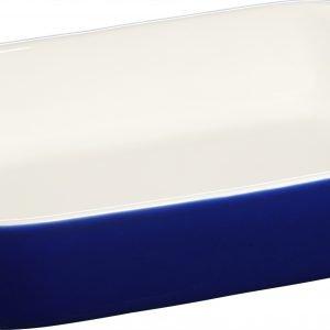 Staub Uunivuoka Neliskulmainen Kivitavara Sininen 27x20 Cm