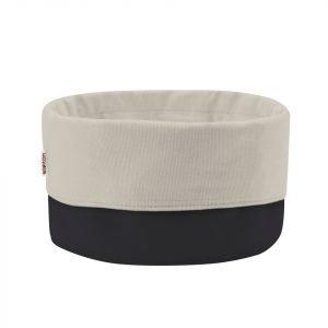 Stelton Classic Leipäpussi Suuri Musta / Valkoinen