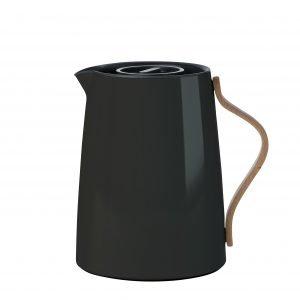 Stelton Emma Termoskannu Teelle Musta 1 L