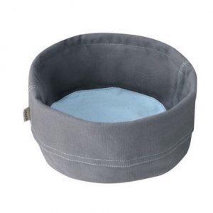Stelton Leipäpussi iso tummanharmaa/sininen