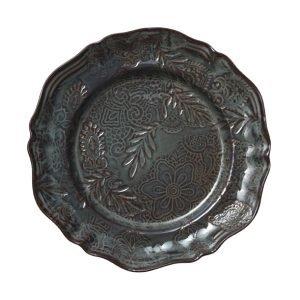 Sthål Arabaesque Tarjoiluvati Pyöreä Keramiikka Viikuna 34 Cm