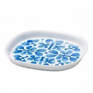 Stig Lindberg Blues Plate Vati Sininen 22.7x20.5 Cm