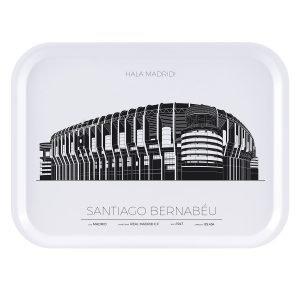 Sverigemotiv Bernabeu Stadion Madrid Tarjotin 27x20 Cm