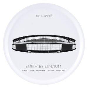 Sverigemotiv Emirates Stadium London Tarjotin 38 Cm