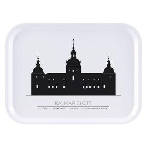 Sverigemotiv Kalmar Slott Tarjotin 27x20 Cm