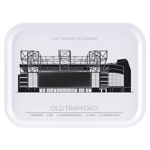 Sverigemotiv Old Trafford Manchester Tarjotin 27x20 Cm