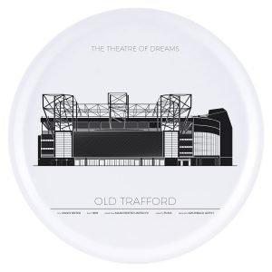 Sverigemotiv Old Trafford Manchester Tarjotin 38 Cm