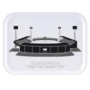 Sverigemotiv Söderstadion Stockholm Tarjotin 27x20 Cm