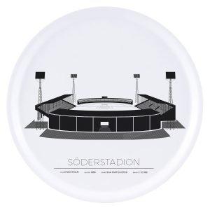 Sverigemotiv Söderstadion Stockholm Tarjotin 38 Cm