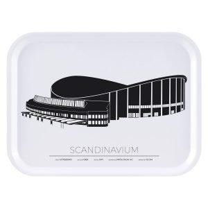 Sverigemotiv Scandinavium Göteborg Tarjotin 27x20 Cm
