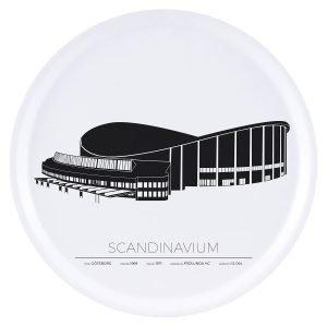 Sverigemotiv Scandinavium Göteborg Tarjotin 38 Cm