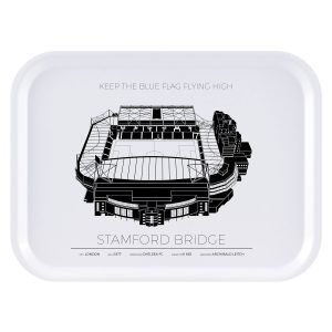 Sverigemotiv Stamford Bridge London Tarjotin 27x20 Cm