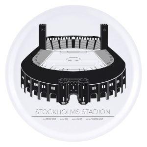 Sverigemotiv Stockholm Stadion Tarjotin 38 Cm