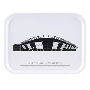 Sverigemotiv Swedbank Stadion Malmö Tarjotin 27x20 Cm