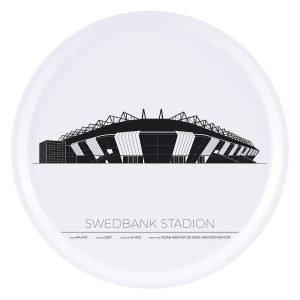 Sverigemotiv Swedbank Stadion Malmö Tarjotin 38 Cm