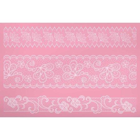 Sweetly Does It Koristelumatto silikonia 40 x 27 cm