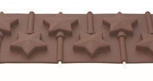 Tala Suklaamuotti silikoninen tähtikuvio
