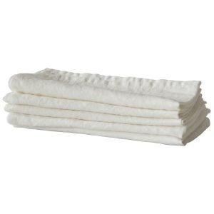 Tell Me More Washed Linen Keittiöpyyhe Luonnonvalkoinen