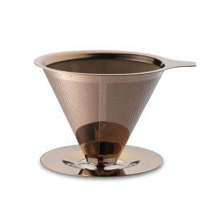 Teministeriet Kahvisuodatin Ruostumaton Teräs Kupari 22 Cl