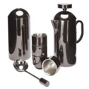 Tom Dixon Brew Cafetiere Set Musta 7-Osainen