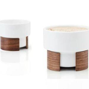 Tonfisk Design WARM-cappucinokuppi 16 cl 6 kpl valkoinen