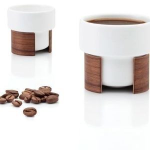 Tonfisk Design WARM-espressokuppi 8 cl 8 kpl valkoinen
