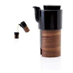 Tonfisk Design WARM tee- ja kahvikannu musta 60 cl