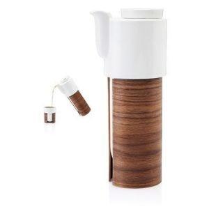 Tonfisk Design WARM tee ja kahvikannu valkoinen 1