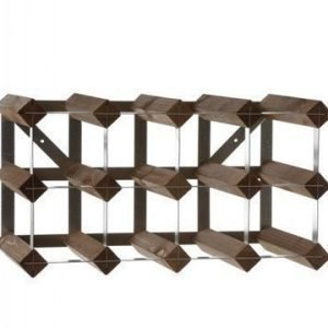 Traditional Wine Racks 12 pullon Rakennettava Viiniteline
